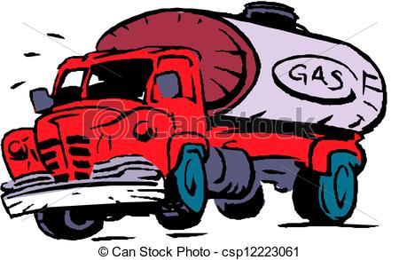 450x293 Big Fuel Gas Tanker Truck.