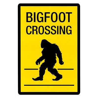 Bigfoot Clipart