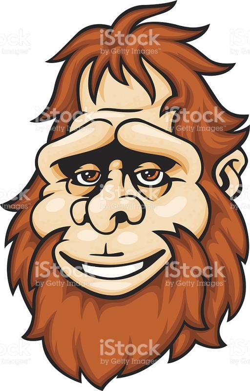 512x800 Bigfoot Cliparts Free Download Clip Art