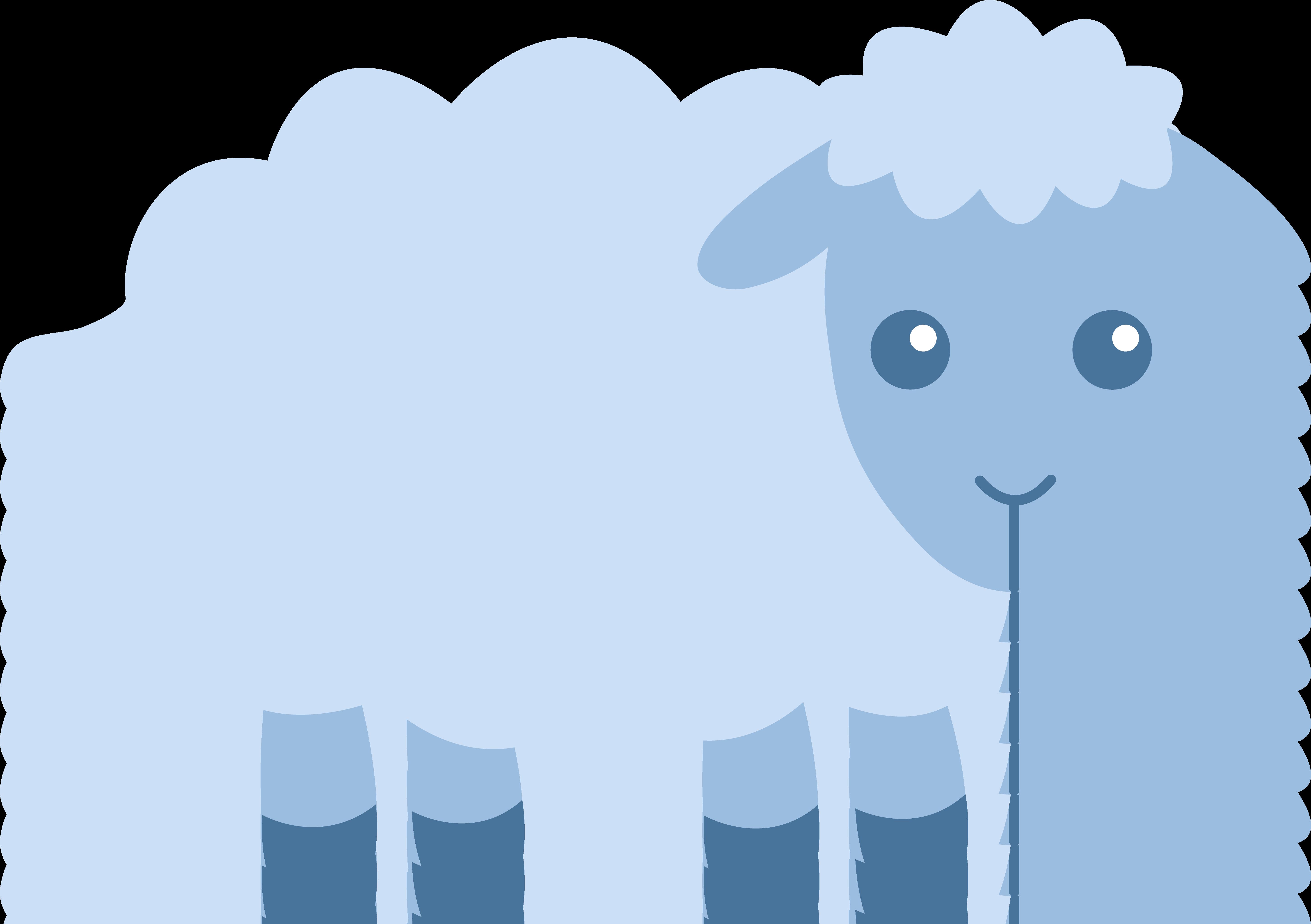 5817x4102 Drawn Sheep Baby Sheep