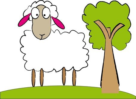 455x332 Free Bighorn Sheep Clipart And Vector Graphics