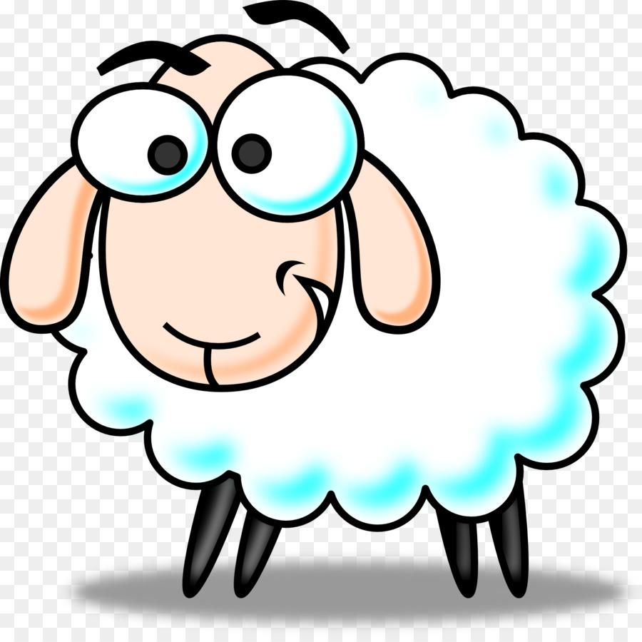 900x900 Sheep Cartoon Clip Art