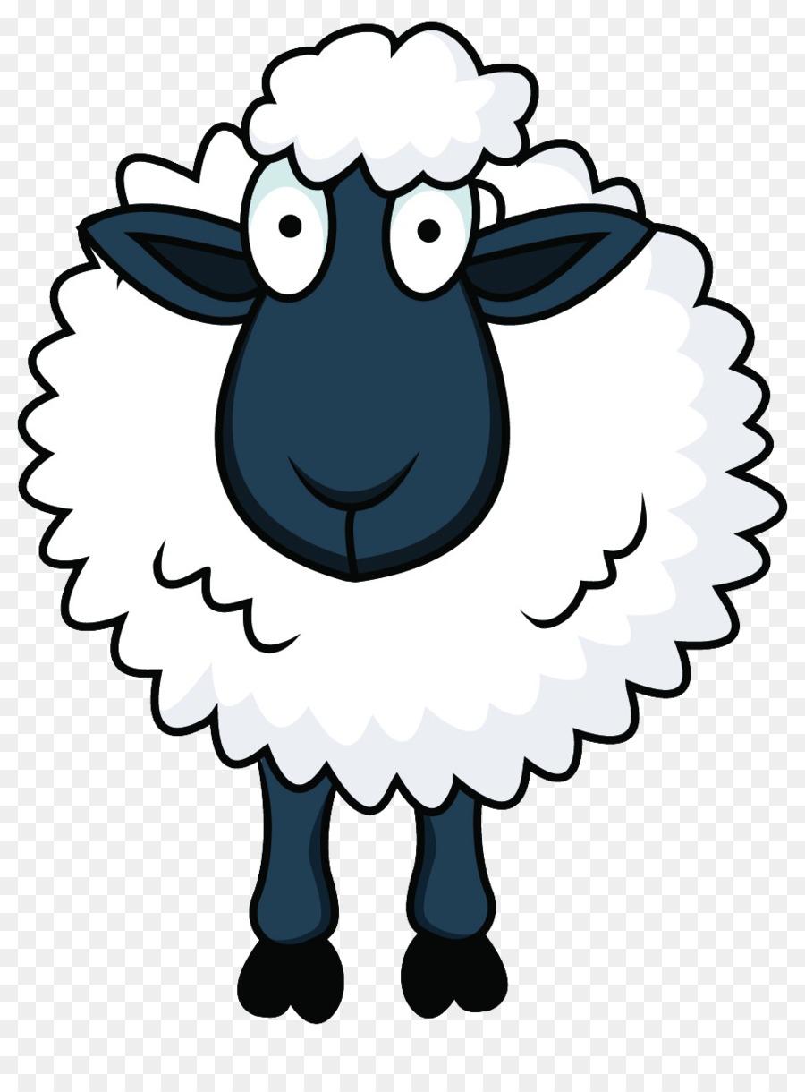 900x1220 Sheep Cartoon Clip Art