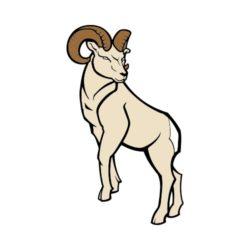 250x250 T Shirt Clip Art For Rams