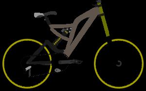 300x187 Mountain Bike Clipart Mountain Bike Clip Art Free Vector 4vector