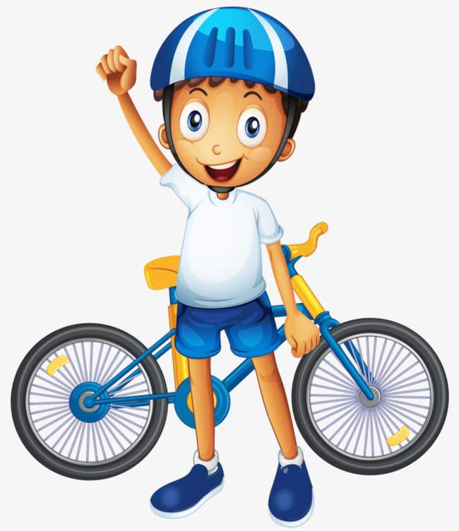 650x752 Boy With Bicycle, Mountain Bike, Helmet, Boy Png Image And Clipart