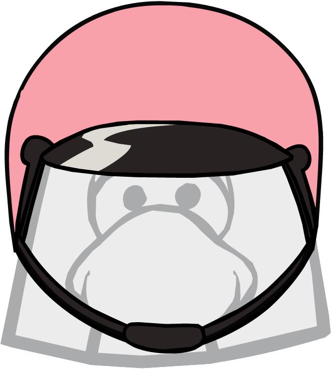 664x741 Lela's Bike Helmet Club Penguin Wiki Fandom Powered By Wikia