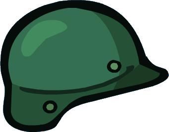 341x267 Army Helmet Clipart