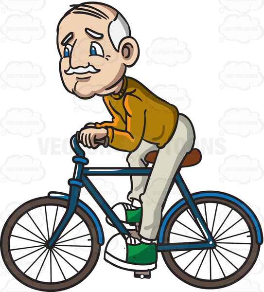 543x600 Funny Bike Riding Clipart Free Images