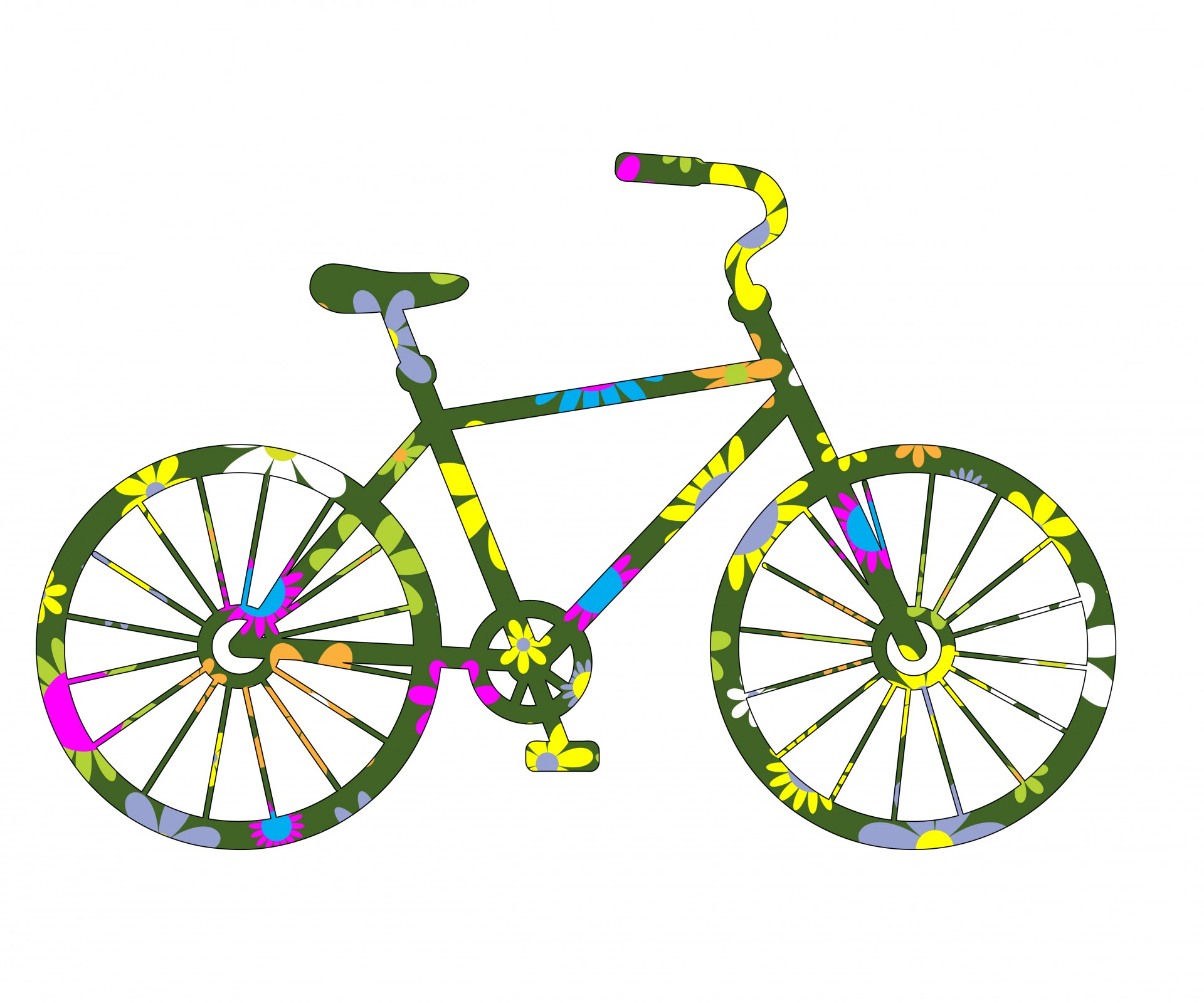 1920x1600 Clipart Bicycle Free Bicycle Gallery For Free Clip Art Of Bike