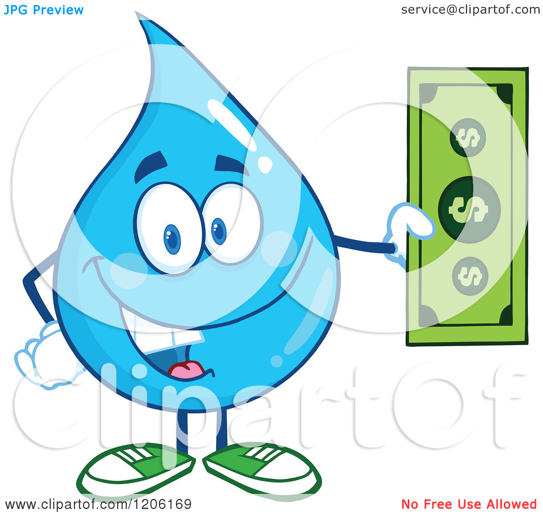 1080x1024 Shocking Clipart Water Bill