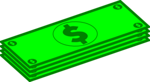 300x165 Clip Art Dollar Bill Free Collection Download And Share Clip Art