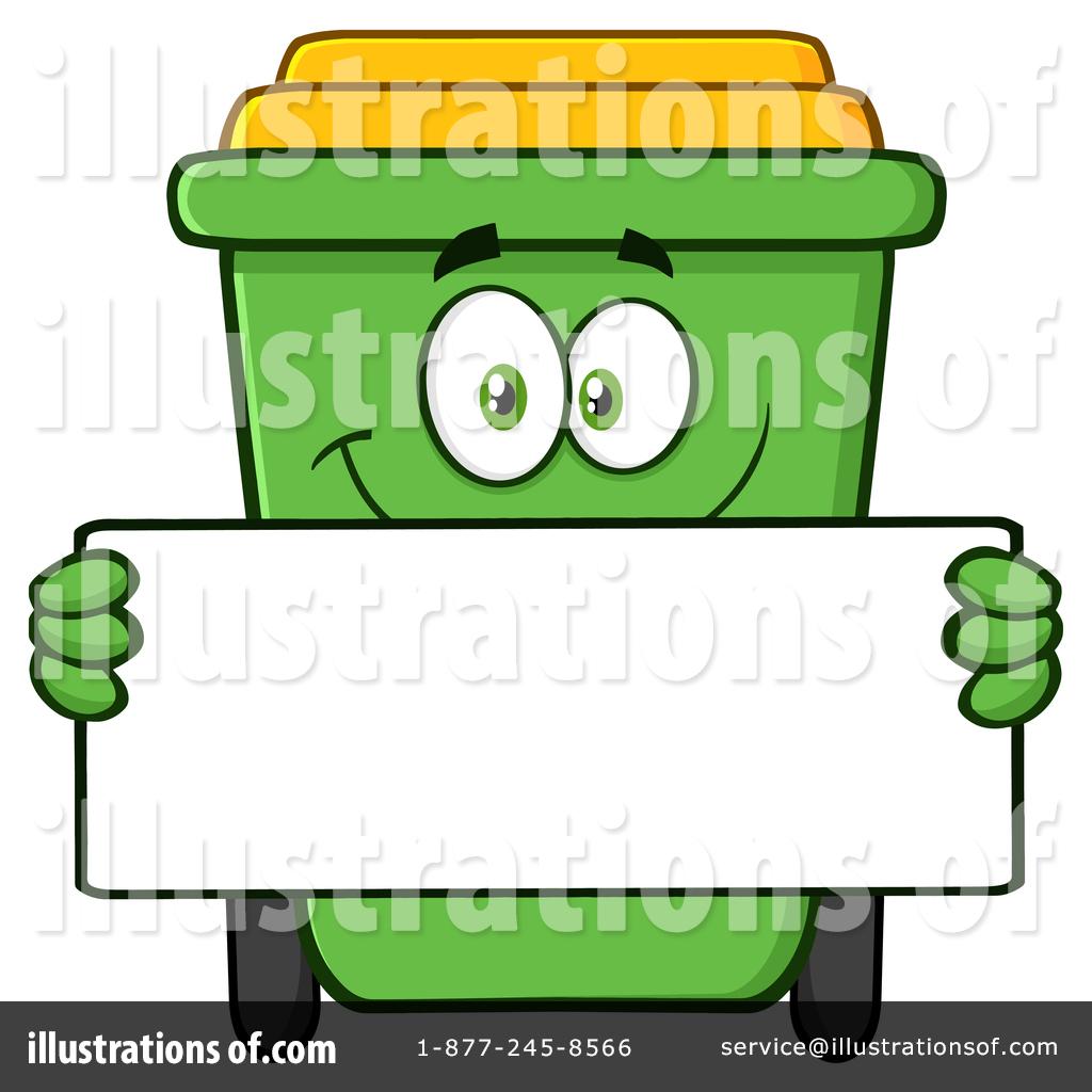 1024x1024 Green Recycle Bin Clipart