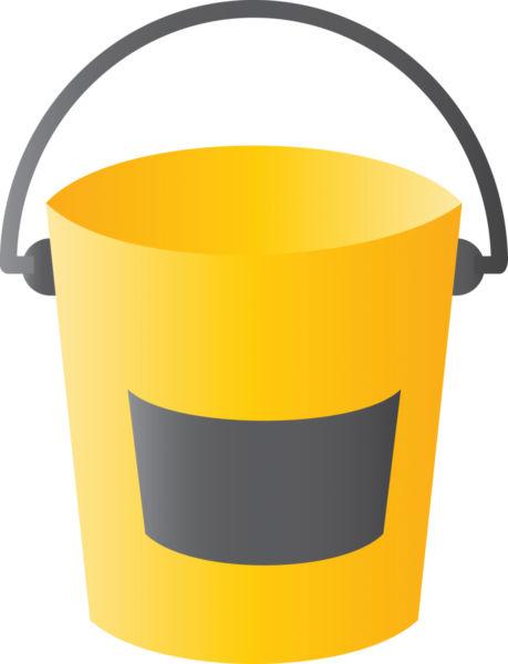 459x600 Illustration Of Yellow Bin.