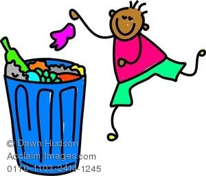300x256 Litter Clipart Rubbish Bin