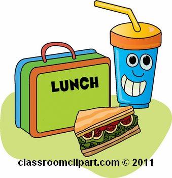 339x350 Lunch Box Clip Art
