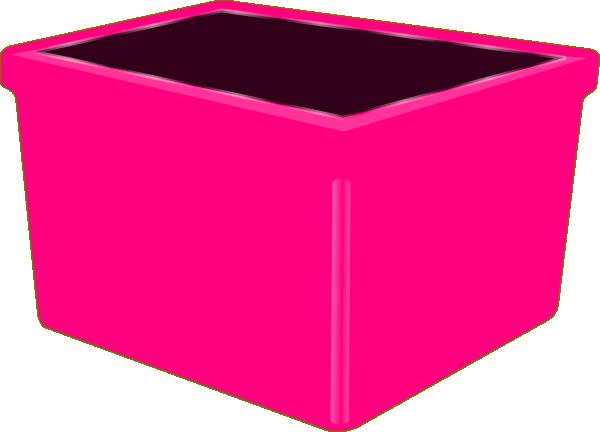 600x432 Pink Bin Clip Art