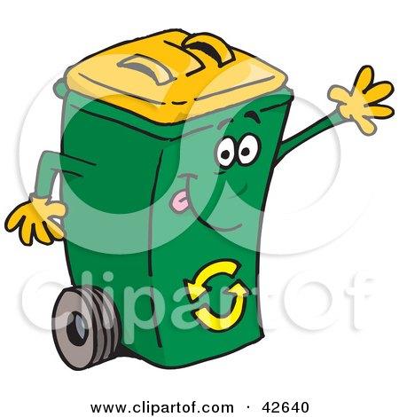 450x470 Royalty Free (Rf) Recycling Bin Clipart, Illustrations, Vector