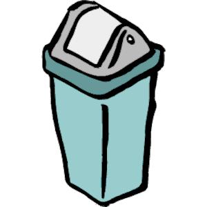 300x300 Trashcan Cliparts