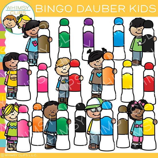 550x550 Bingo Dauber Kids Clip Art , Images Amp Illustrations Whimsy Clips