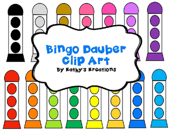350x263 Bingo Daubers Clip Art Teaching Resources Teachers Pay Teachers