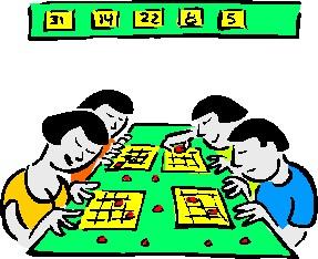 287x234 Bingo Card Cliparts