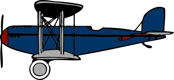 594x275 Biplane Vector Free Free Vector Download (4 Free Vector)