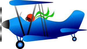 300x168 Free Biplane Clipart Image 0515 1005 2920 5761 Airplane Clipart