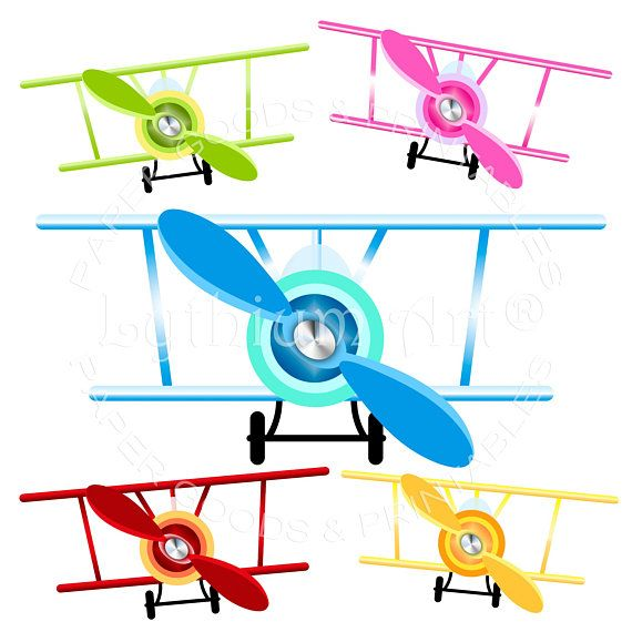 570x570 Airplane Clipart, Airplanes Clipart Png, Biplane Clipart