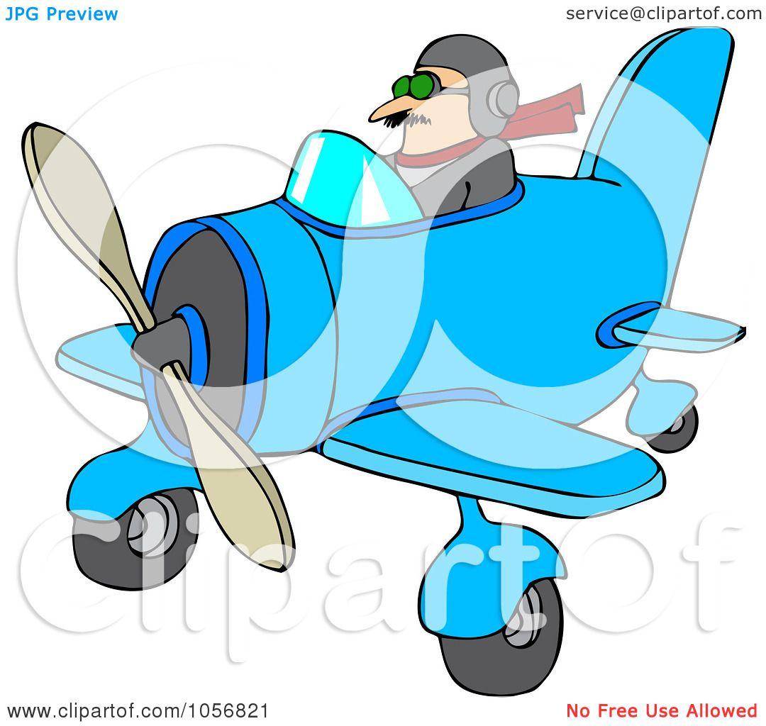 1080x1024 Royalty Free Vector Cliprt Illustration Of Pilot Flying