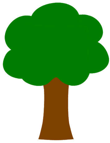 355x461 Clipart Tree Images
