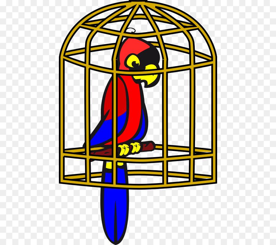 900x800 Birdcage Parrot Clip Art