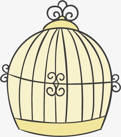 471x531 Cartoon Bird Cage Material, Birdcage, Cartoon, Cage Png And Vector
