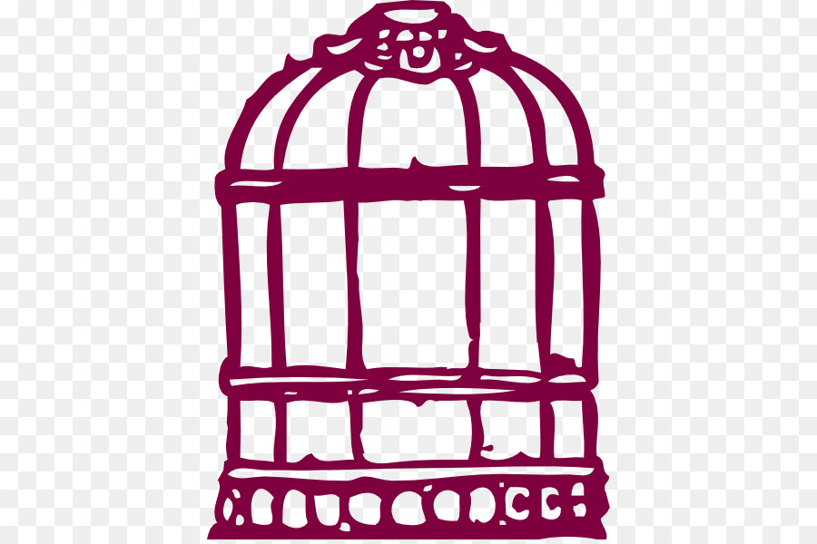900x600 Parrot Birdcage Cartoon Clip Art