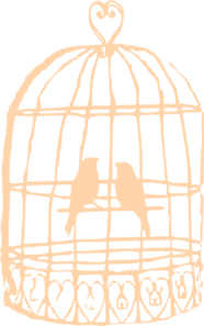 186x297 Birdcage Clip Art