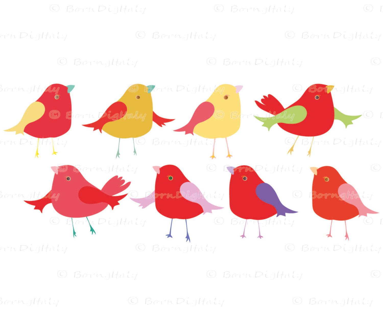1500x1248 Cute Birds Clipart Bird Graphics Little Bird Clip Art Kids