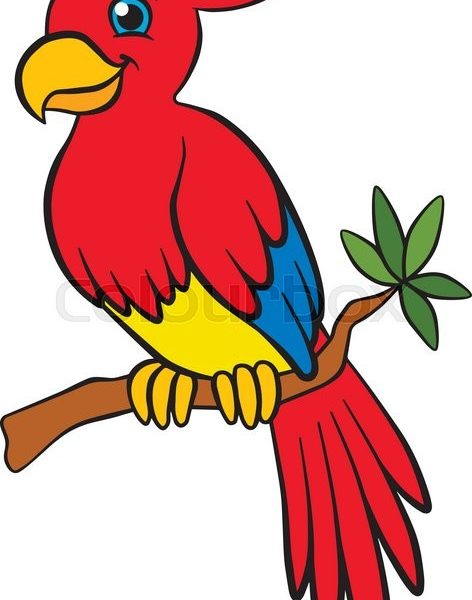 472x600 Birds Pictures For Kids Coloring Page