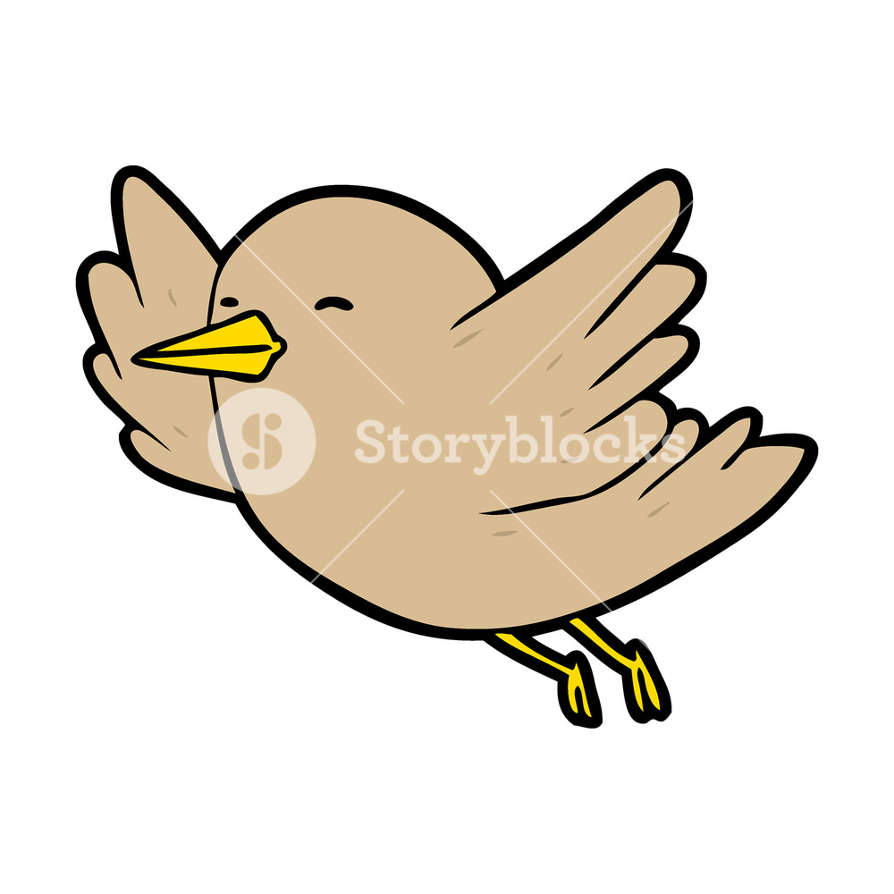 1000x1000 Cartoon Birds Flying Coloring To Pretty Animation For Beginners