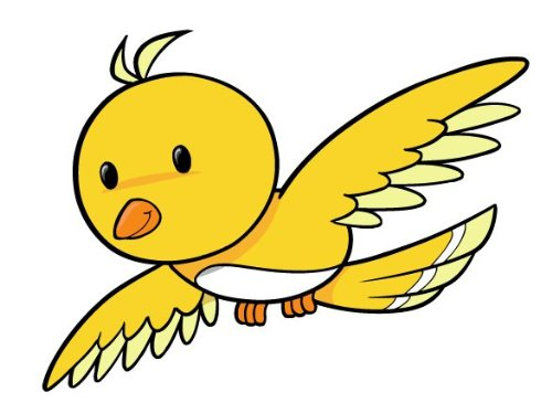 500x365 Flying Cartoon Bird Find Here More Than
