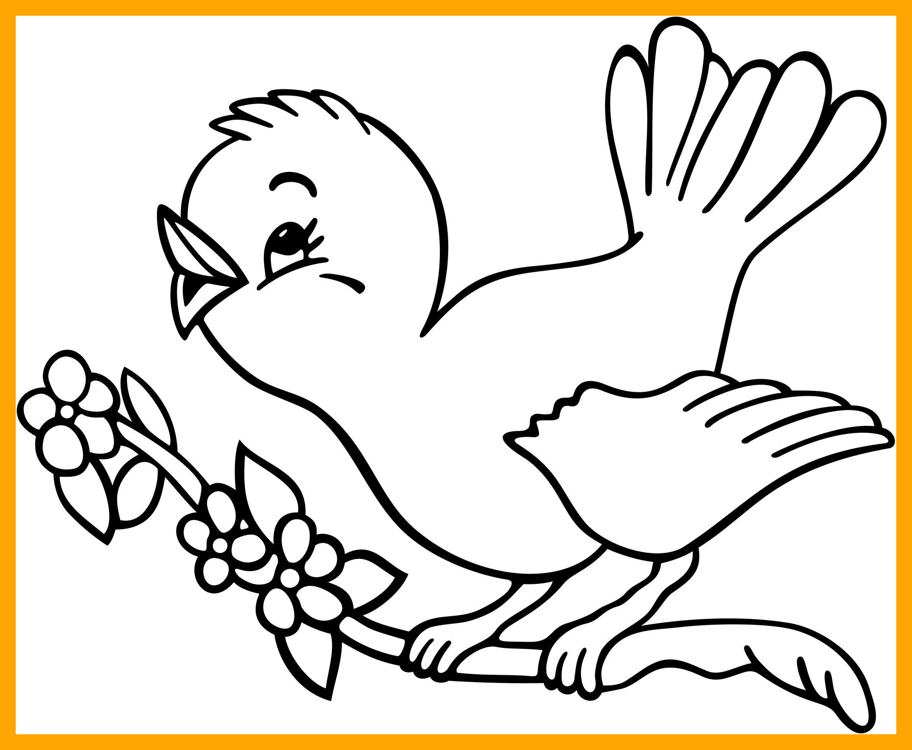 1866x1535 Awesome Great Toucan Coloring Pages Printable With Bird Pic