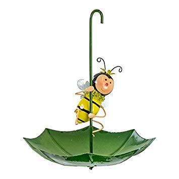 355x355 Bumble Bee Umbrella Garden Bird Feeder Amazon.co.uk Garden