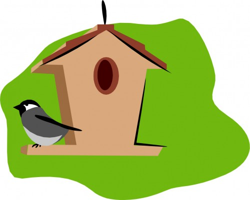 500x401 Earth Day Craft Diy Shoe Box Birdhouse