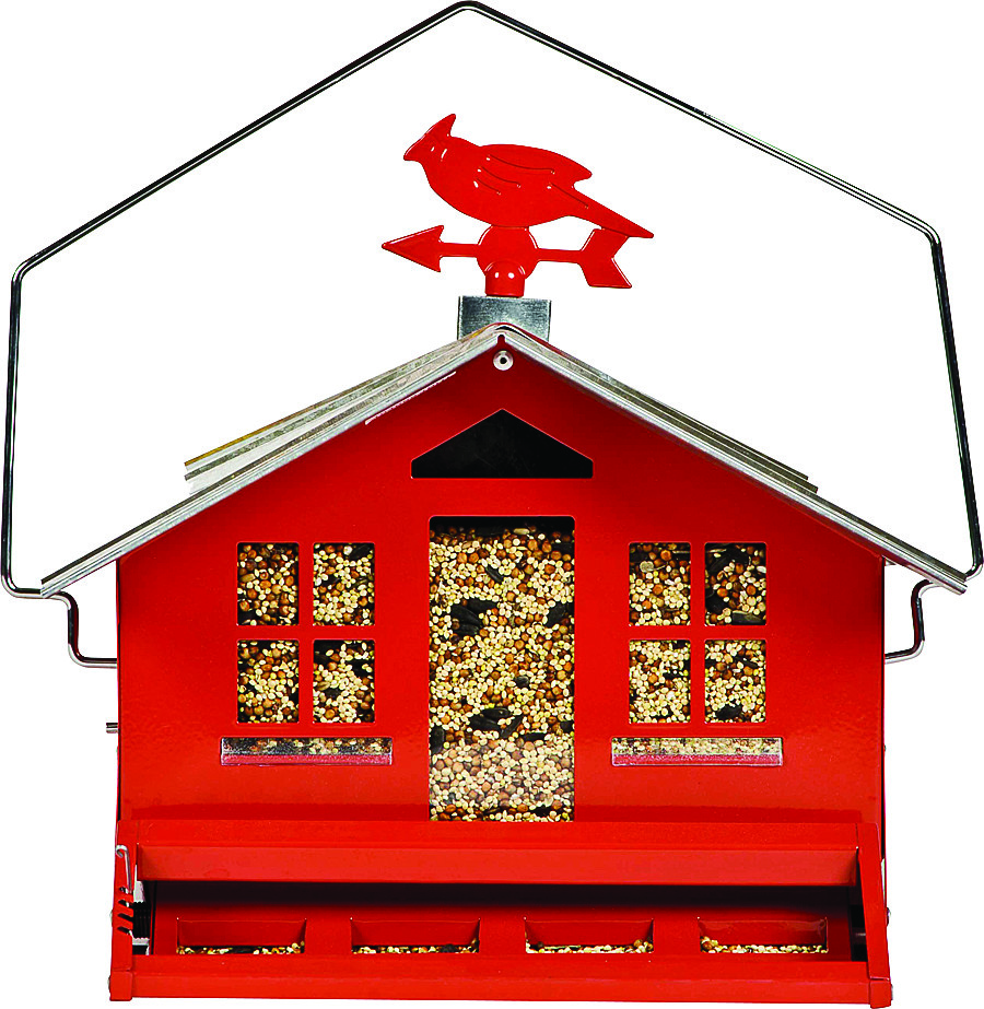 900x923 Perky Pet 338 Squirrel Be Gone Ii Country House Wild Bird Feeder