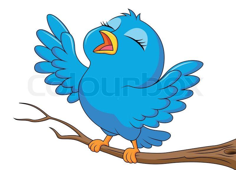 800x577 Songbird Clipart Cartoon Bird