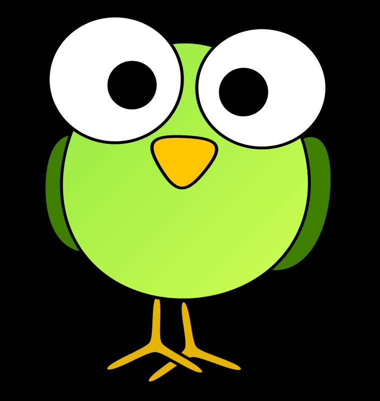 758x800 Animated Bird Clipart