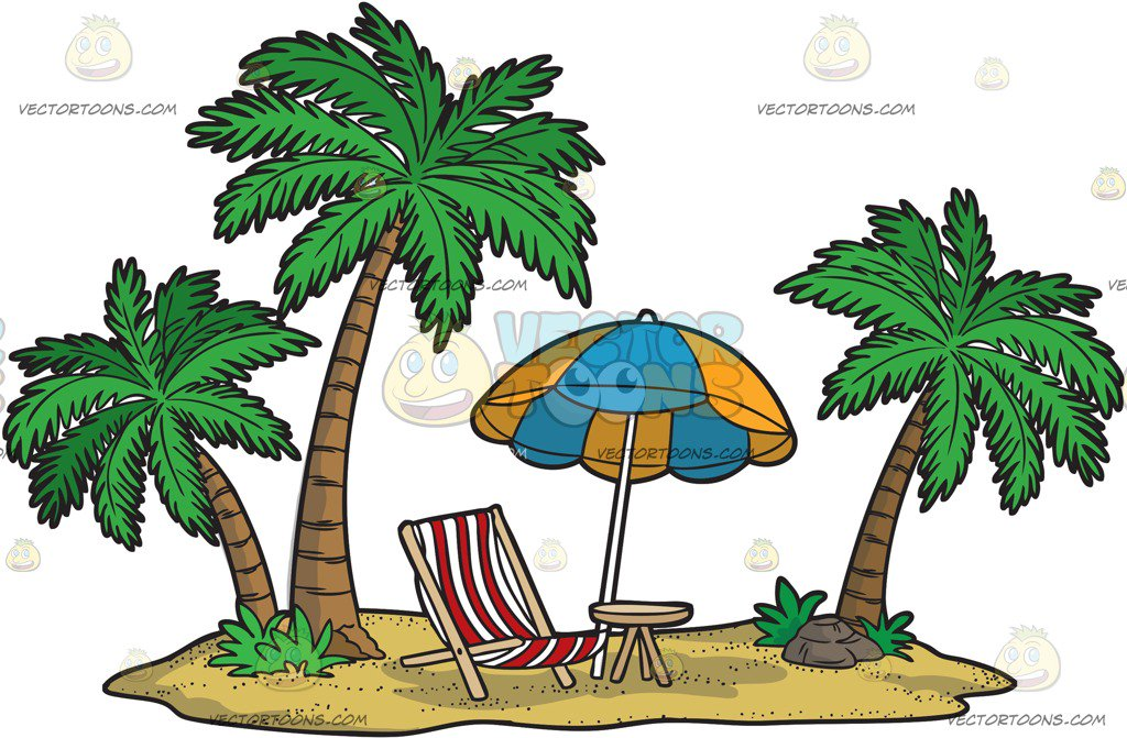1024x671 Clipart Island Paradise