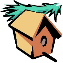 205x205 Free Birdhouse Clipart