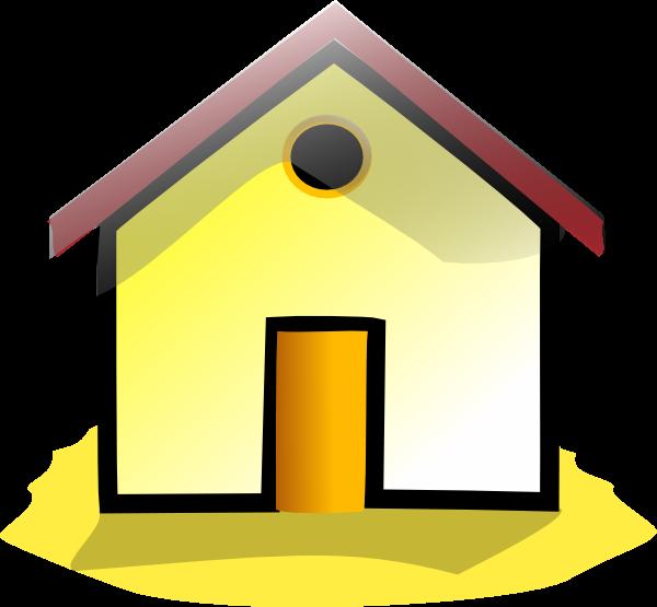 600x555 Home Clip Art