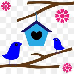 260x260 Bird Nest Box Clip Art