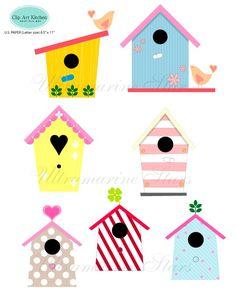 236x305 Birdhouse Clip Art Clipart, Cute Whimsical Bird House Clipart Clip